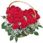 В форме сердца - цветы и букеты на 7roz.kiev.ua