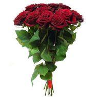 Букет цветов из 11 красных роз - цветы и букеты на 7roz.kiev.ua