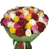 Bouquet of 61 roses - flowers and bouquets on 7roz.kiev.ua