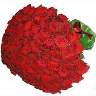 Bouquet of 101 imported roses - flowers and bouquets on 7roz.kiev.ua