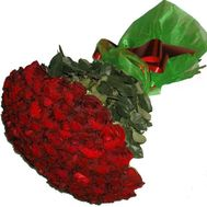 Bouquet of 51 imported roses - flowers and bouquets on 7roz.kiev.ua