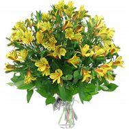 Букет из 9 желтых альстромерий - цветы и букеты на 7roz.kiev.ua