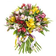 Bouquet of 25 alstromeries - flowers and bouquets on 7roz.kiev.ua