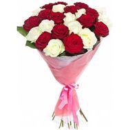 Букет из 23 роз - цветы и букеты на 7roz.kiev.ua
