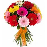 Bouquet of 25 gerberas - flowers and bouquets on 7roz.kiev.ua