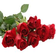 Bouquet of 7 import meter roses - flowers and bouquets on 7roz.kiev.ua