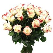 Bouquet of 35 imported roses - flowers and bouquets on 7roz.kiev.ua