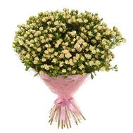 Bouquet of 101 bush roses - flowers and bouquets on 7roz.kiev.ua