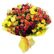 Bouquet of 23 roses - flowers and bouquets on 7roz.kiev.ua