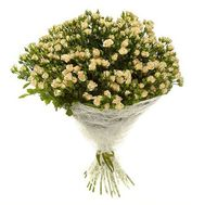 Bouquet of 51 bush roses - flowers and bouquets on 7roz.kiev.ua