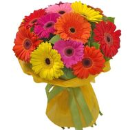 Bouquet of 17 gerberas - flowers and bouquets on 7roz.kiev.ua