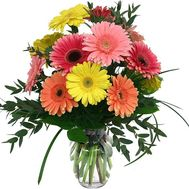 Bouquet of 11 gerberas - flowers and bouquets on 7roz.kiev.ua
