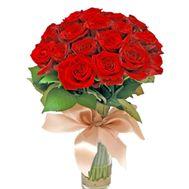 Букет из 19 роз - цветы и букеты на 7roz.kiev.ua