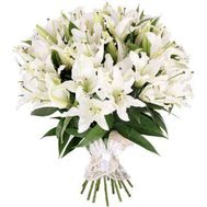 Bouquet of 35 lilies - flowers and bouquets on 7roz.kiev.ua