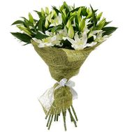 Bouquet of 15 branches of lily - flowers and bouquets on 7roz.kiev.ua