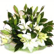 Букет із 7 лілій - цветы и букеты на 7roz.kiev.ua