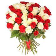 Bouquet of 37 roses - flowers and bouquets on 7roz.kiev.ua