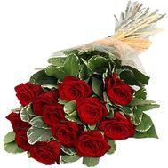 Bouquet of 11 red roses - flowers and bouquets on 7roz.kiev.ua