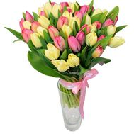 Bouquet of 45 Tulips - flowers and bouquets on 7roz.kiev.ua