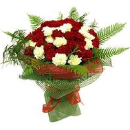 Bouquet of 55 carnations - flowers and bouquets on 7roz.kiev.ua
