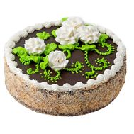Cake from a local bakery - flowers and bouquets on 7roz.kiev.ua