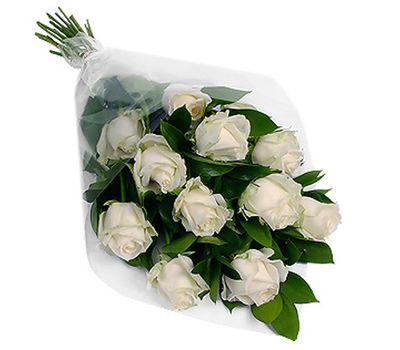 """""""Букет цветов из 11 белых роз"""" в интернет-магазине цветов 7roz.kiev.ua"""