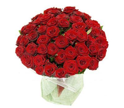 """""""Букет цветов из 51 красной розы"""" в интернет-магазине цветов 7roz.kiev.ua"""