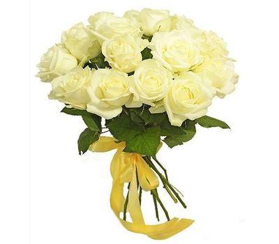 """""""Букет из 19 белых роз"""" в интернет-магазине цветов 7roz.kiev.ua"""