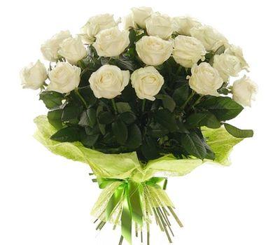 """""""Букет цветов из 21 белой розы"""" в интернет-магазине цветов 7roz.kiev.ua"""