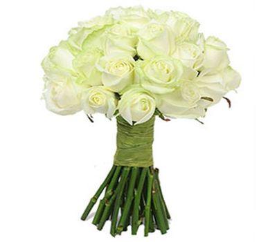 """""""Букет цветов из 25 белых роз"""" в интернет-магазине цветов 7roz.kiev.ua"""