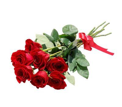 """""""Букет из 7 красных роз"""" в интернет-магазине цветов 7roz.kiev.ua"""