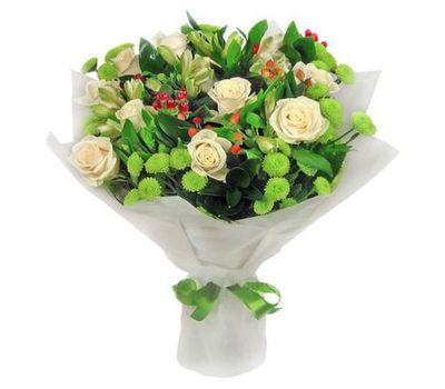 """""""Букет цветов из 5 роз и 6 хризантем"""" в интернет-магазине цветов 7roz.kiev.ua"""