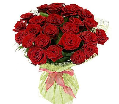 """""""Букет цветов из 25 красных роз"""" в интернет-магазине цветов 7roz.kiev.ua"""