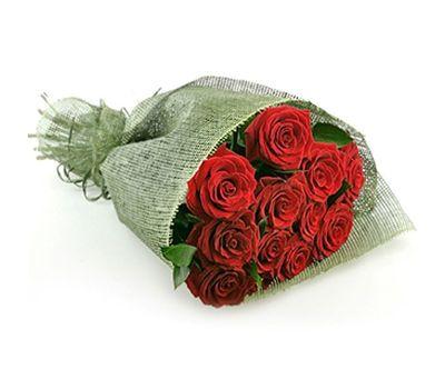 """""""Букет цветов из 11 красных роз"""" в интернет-магазине цветов 7roz.kiev.ua"""