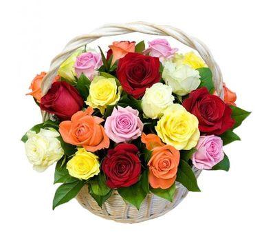 """""""Корзина из 25 роз"""" в интернет-магазине цветов 7roz.kiev.ua"""