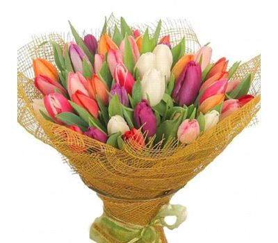 """""""Букет из 85 тюльпанов"""" в интернет-магазине цветов 7roz.kiev.ua"""