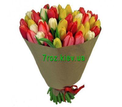 """""""Букет из 65 тюльпанов"""" в интернет-магазине цветов 7roz.kiev.ua"""