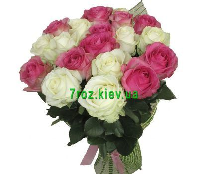 """Букет из 19 роз"" in the online flower shop 7roz.kiev.ua"