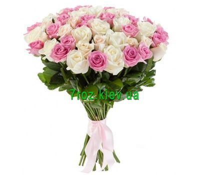 """""""Букет из 51 розы"""" в интернет-магазине цветов 7roz.kiev.ua"""