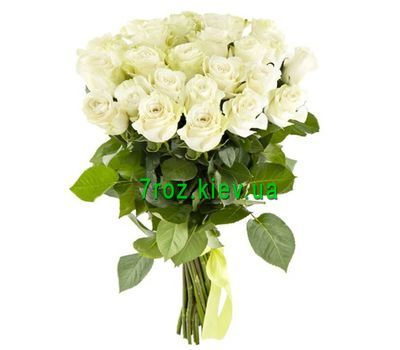 """Bouquet of 17 white roses"" in the online flower shop 7roz.kiev.ua"