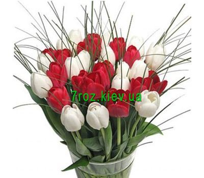 """Bouquet of 39 Tulips"" in the online flower shop 7roz.kiev.ua"