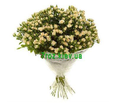 """""""Букет из 51 кустовой розы"""" в интернет-магазине цветов 7roz.kiev.ua"""