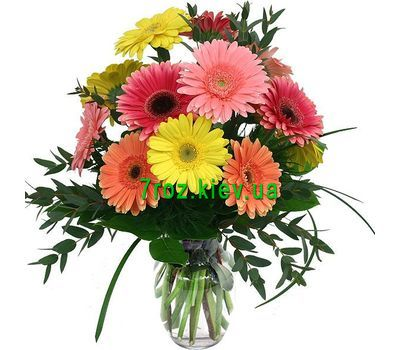 """Bouquet of 11 gerberas"" in the online flower shop 7roz.kiev.ua"
