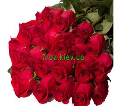 """""""Букет из 25 красных импортных роз"""" в интернет-магазине цветов 7roz.kiev.ua"""