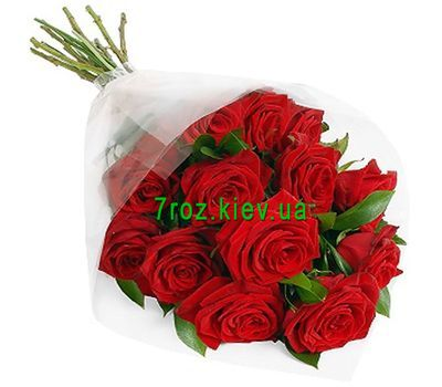 """Bouquet of flowers of 13 red roses"" in the online flower shop 7roz.kiev.ua"