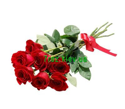"""Bouquet of 7 red roses"" in the online flower shop 7roz.kiev.ua"