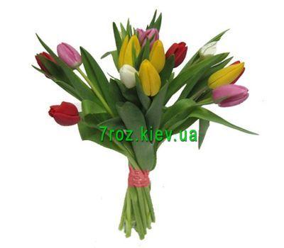 """""""Букет из 15 тюльпанов"""" в интернет-магазине цветов 7roz.kiev.ua"""