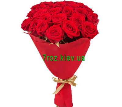 """Bouquet of 21 red roses"" in the online flower shop 7roz.kiev.ua"