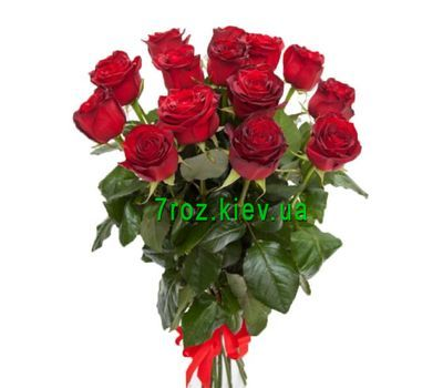 """Bouquet of 13 red roses"" in the online flower shop 7roz.kiev.ua"