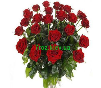 """Bouquet of 27 red roses"" in the online flower shop 7roz.kiev.ua"